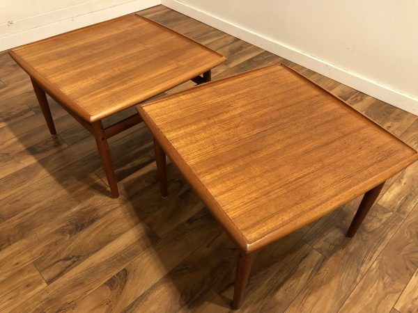 Grete Jalk Danish Teak Side Tables – $595 each