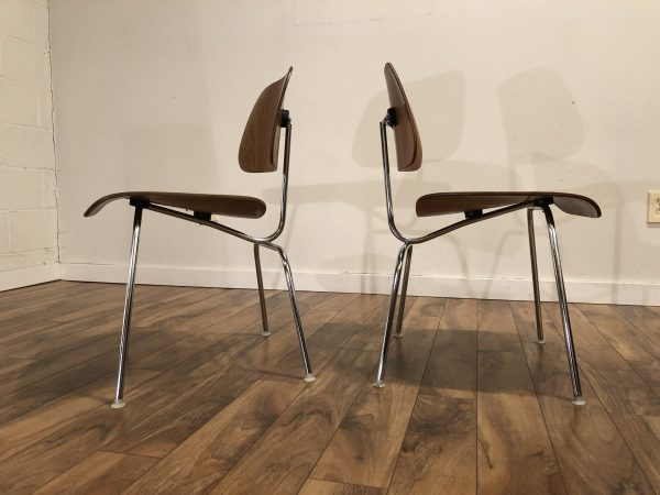 SOLD – Eames DCM Chairs, Pair