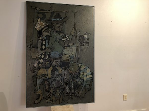 "Lloyd Clausen ""Four Wise Men"" – $995"