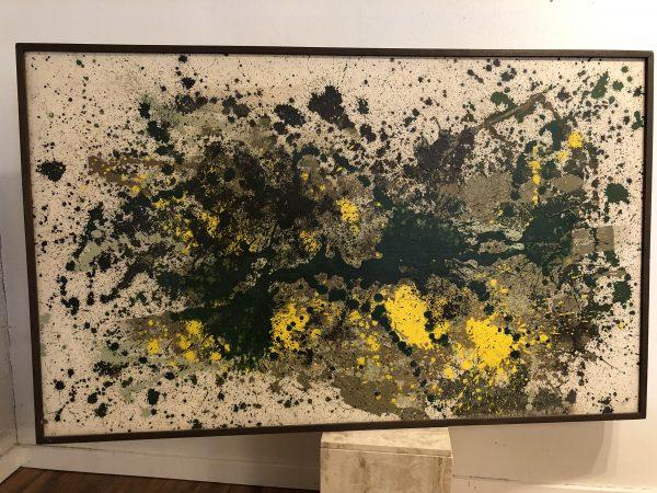 "Sharon J Bender ""Sunspots"" Large Abstract – $895"