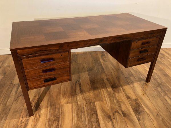 SOLD – Heggen Mid Century Rosewood Desk
