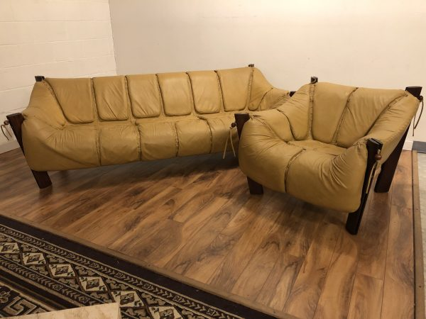 Percival Lafer MP 211 Sofa & Chair Set – $6500