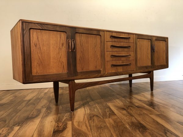 G-Plan Fresco Long Teak Sideboard – $2195