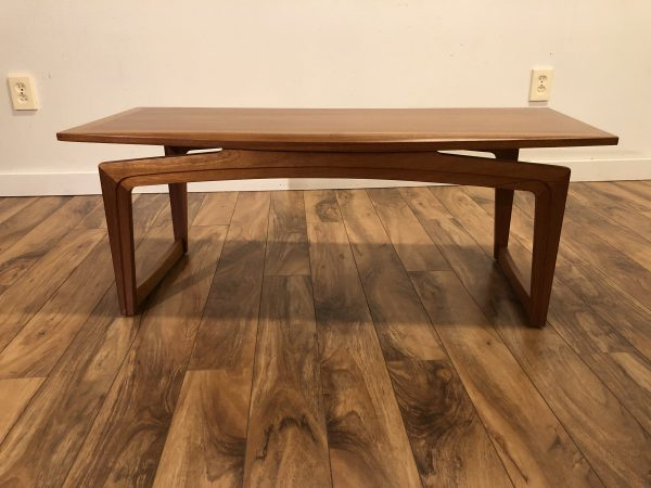 Teak Small Vintage Coffee Table – $495