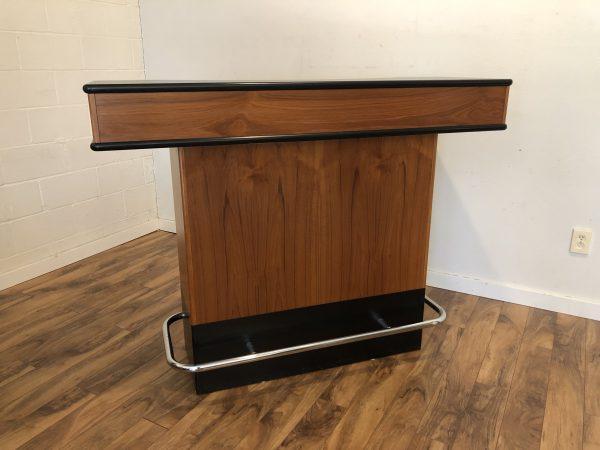 Vintage Teak & Black Bar – $1250