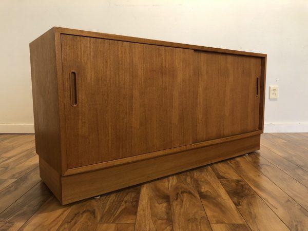 Poul Hundevad Compact Danish Teak Sideboard – $1375