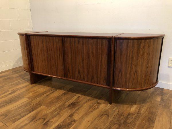 SOLD – Danish Modern Tambour Rosewood Sideboard