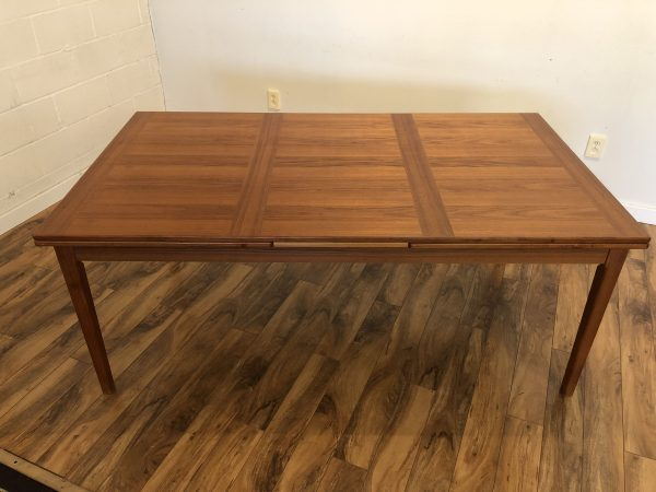 Dyrlund Large Teak Dining Table – $995