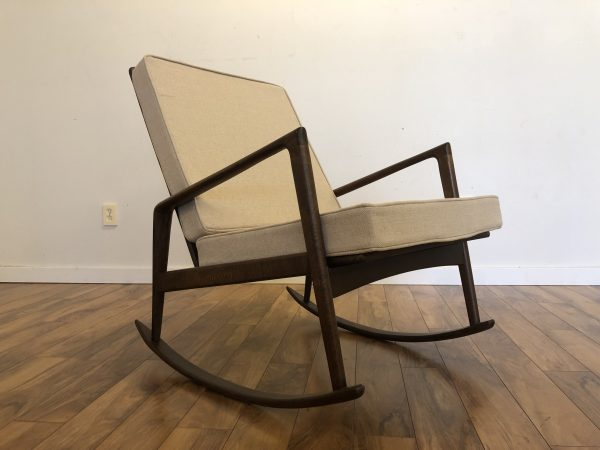 Italian Mid Century Rocking Chair – $1195