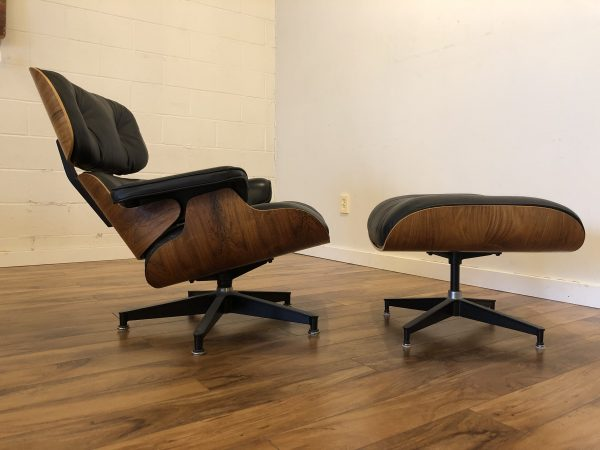 SOLD – Eames 670 – 671 Chair & Ottoman 1980's