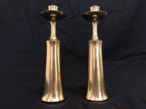 Dansk Mid Century Brass Candle Holders Pair – $250