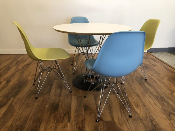 Noguchi Dining Table with Eames Chairs – $1995
