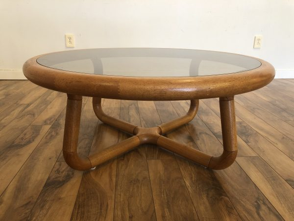 Uldum Mobelfabrik Teak & Glass Coffee Table – $1875