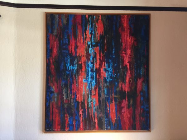 "Fridtjof Schroder ""Requiem 2"" Oil on Canvas – $950"