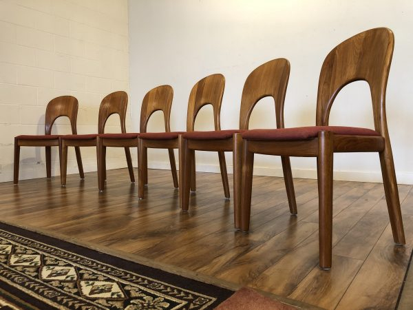 "Koefoeds Hornslet ""Morten"" Dining Chairs Set – $1495"