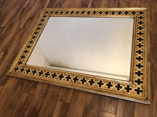 Friedman Brothers Large Gold & Black Mirror – $1095