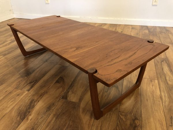 Peter Hvidt & Olga Molgaard Teak Coffee Table – $1495