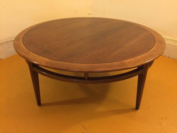 Lane Mid Century Round Coffee Table – $375