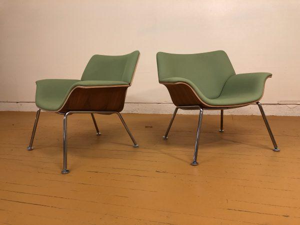 Herman Miller Swoop Chairs, Pair – $1695