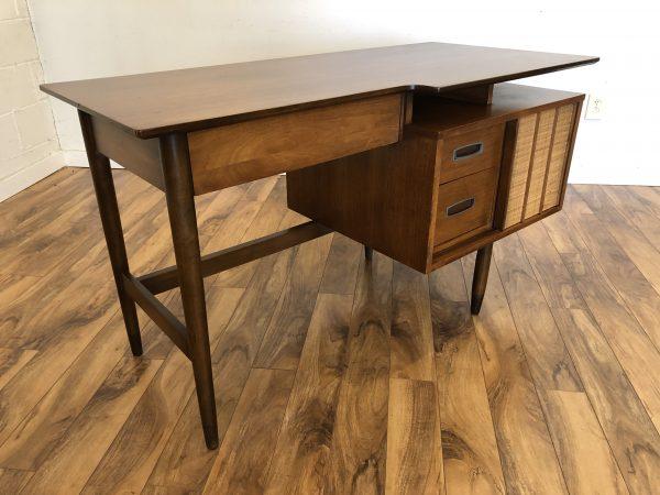 Hooker Mainline Mid Century Walnut Desk – $950