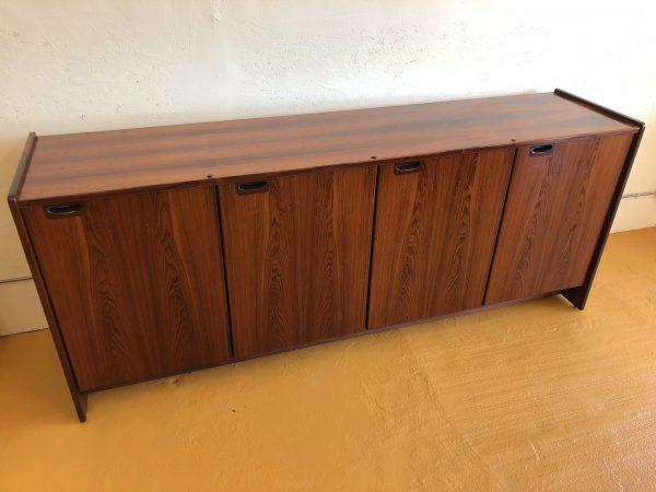 Danish Rosewood 4 Door Sideboard – $1595