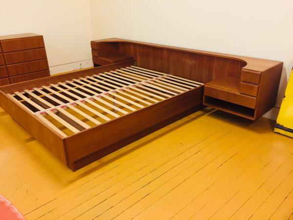 SOLD – Komfort Danish Teak Platform Bed