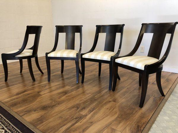 Baker Palladium Dining Chairs, Set of 4 – $1295