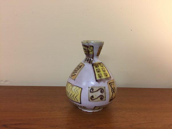 Guido Gambone Painted Ceramic Pottery Vase – $850