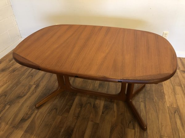 Benny Linden Teak Veneer Dining Table – $995