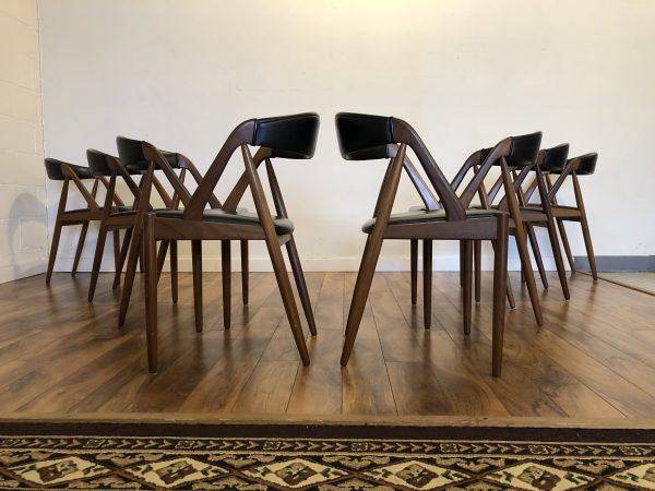 Kai Kristiansen Model 31 Teak Dining Chairs – $2995