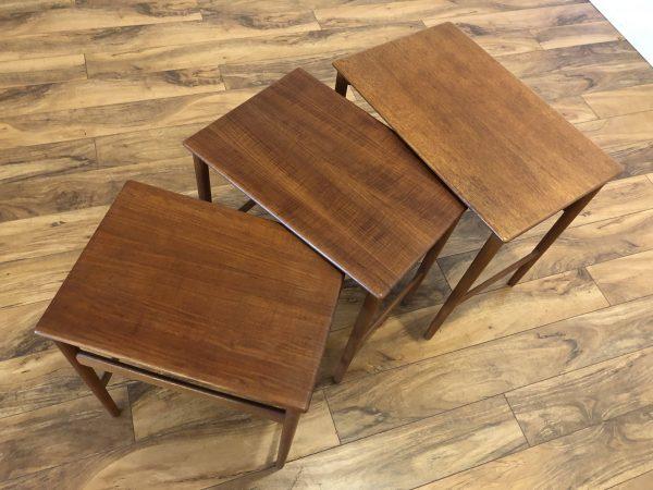 Hans Wegner Teak Nesting Tables – $995