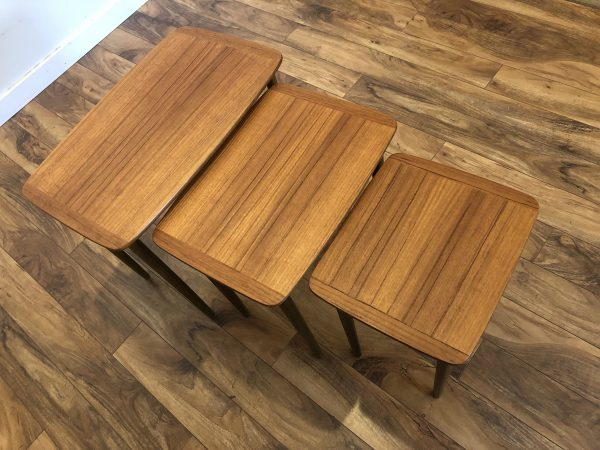Teak Nesting Tables Made in Norway – $495