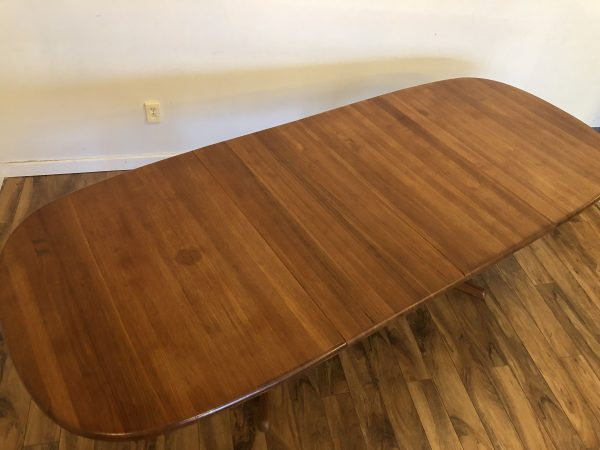 Benny Linden Solid Teak Dining Table – $950