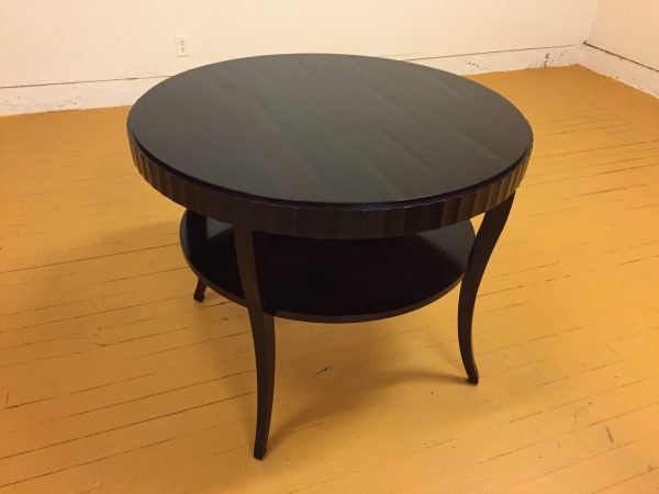 Baker Barbara Barry Round Fluted Table – $795