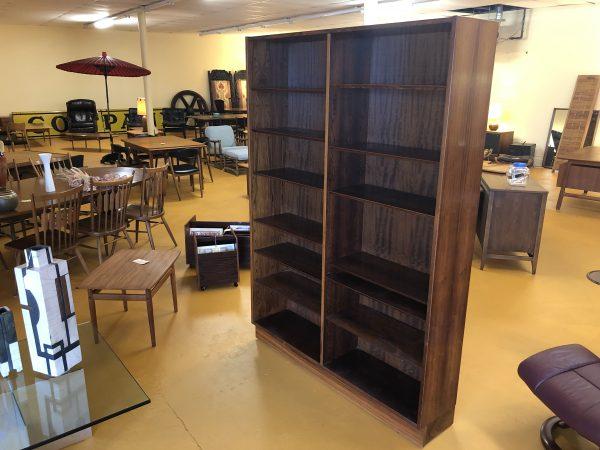 Poul Hundevad Danish Rosewood Bookshelf – $950