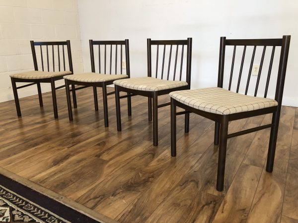 Farstrup Danish Modern Dining Chairs, Set of 4 – $950
