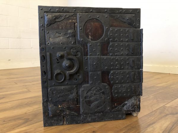 Antique Japanese Kakesuzuri Tansu Chest – $695