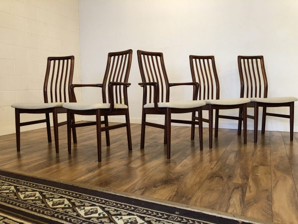 SVA Mobler Danish Dining Chairs, Set of 5 – $795