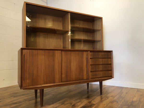 Poul Hundevad Teak Sideboard & Hutch – $1950
