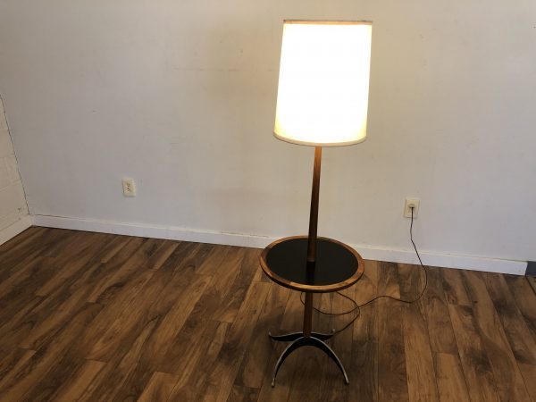 Tony Paul Vintage Floor Lamp with Table – $1195