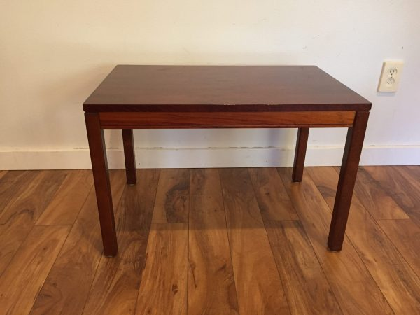 Heggen of Norway Rosewood Side Table – $295