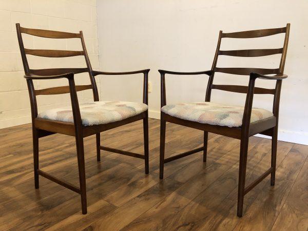 Torbjorn Afdal Danish Rosewood Armchairs Pair – $1195