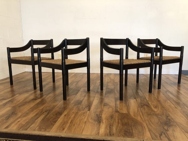 Vico Magistretti Carimate Chairs, Set of 4 – $1495
