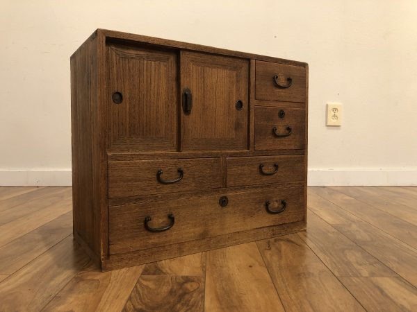 Antique Japanese Tiny Tansu Chest – $450