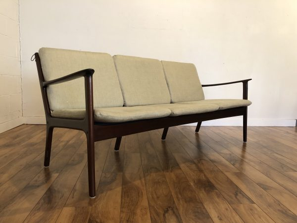 Ole Wanscher Poul Jeppesen Mid Century Sofa – $2595