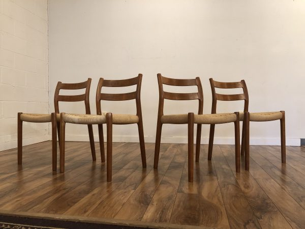 JL Moller Model 84 Dining Chairs – $1395