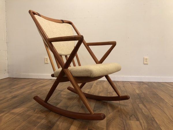 Benny Linden Teak Rocking Chair – $695