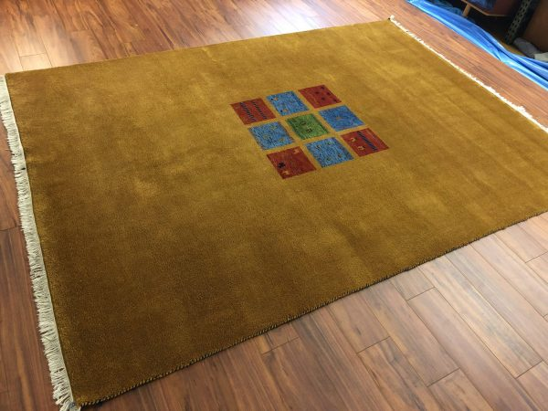 Vintage Thick Heavy Indian Rug – $1295