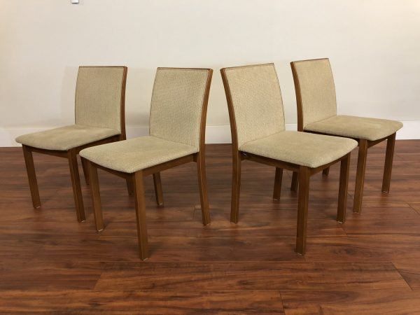 Skovby Teak Dining Chairs, Set of 4 – $1095
