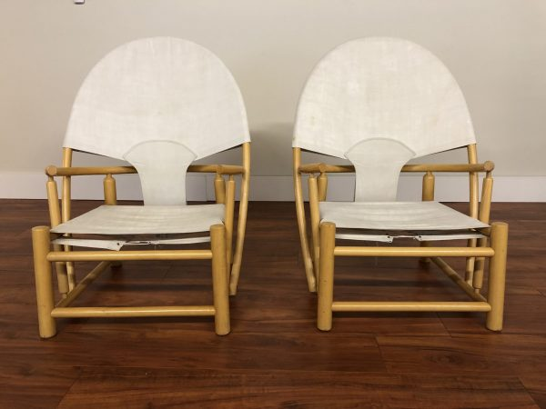 Piero Palange & Werther Toffoloni Hoop Chairs – $4495